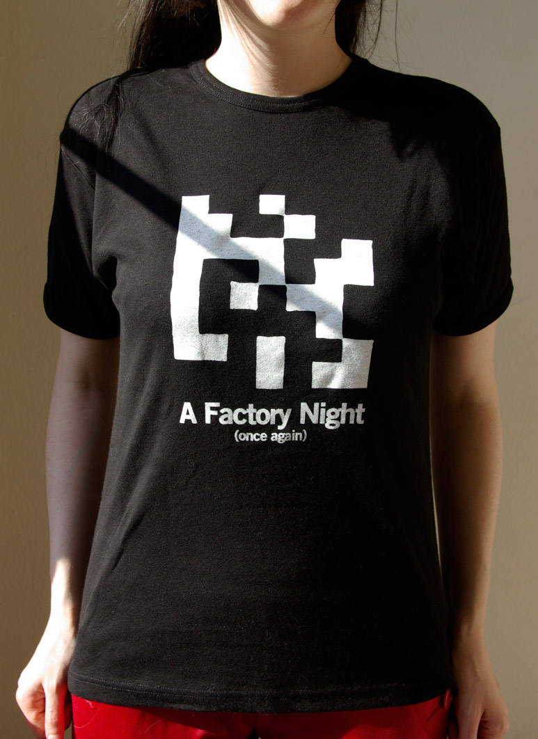 T-Shirt Factory Night plan K Bruxelles Belgique