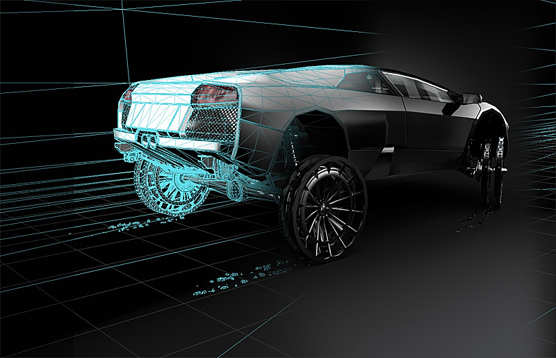 need for speed 3d murcielago wire